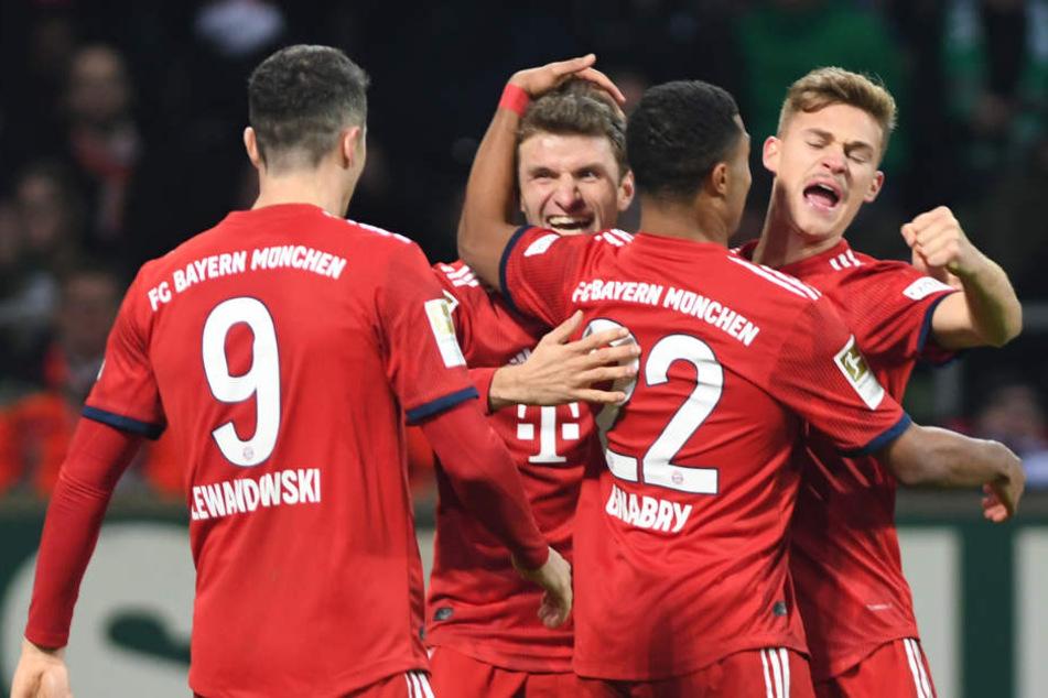 Der FC Bayern zeigte eine gute Leistung bei Werder Bremen.