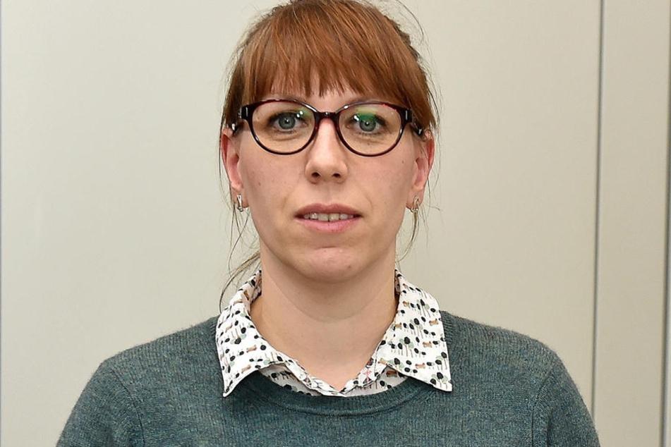 Landtagsabgeordnete Katja Meier (38, Grüne) kritisiert die vielen Zugausfälle und Verspätungen der Mitteldeutschen Regiobahn.
