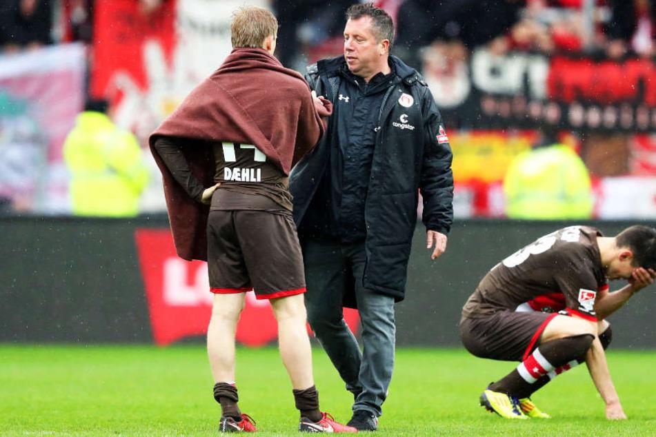 Der FC St. Pauli ist nach der 0:1-Niederlage gegen den 1. FC Union Berlin in Bedrängnis.
