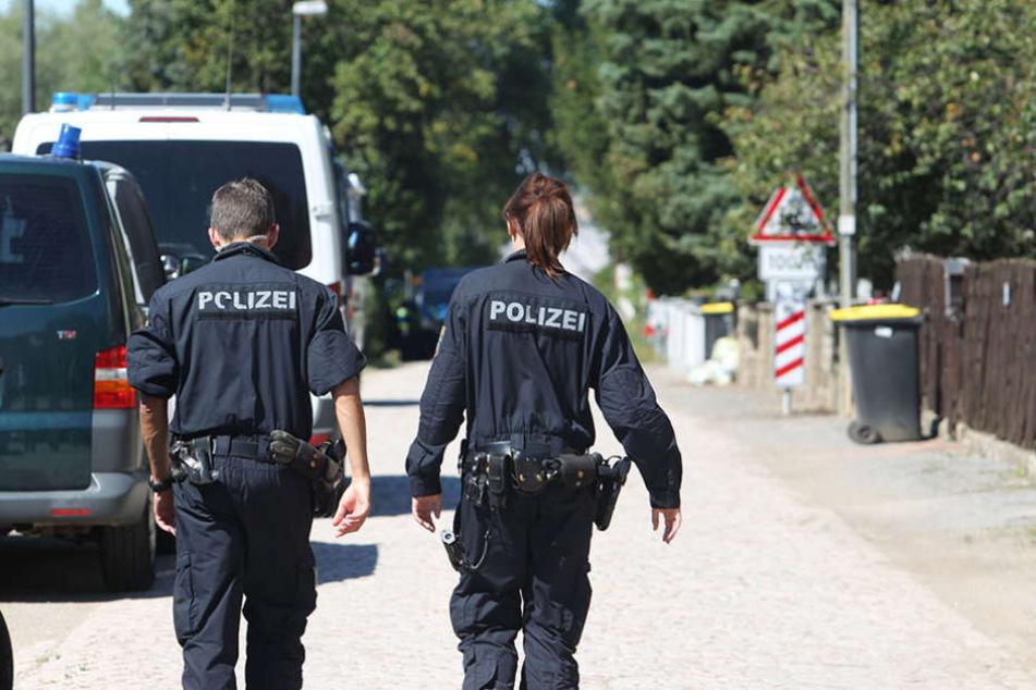 """Polizisten sollen auch in Sachsen zum Umgang mit den so genannten """"Reichsbürgern"""" geschult werden."""