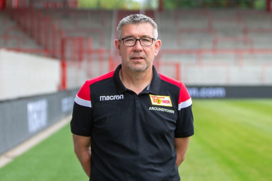 Urs Fischer wird Union in die erste Bundesliga-Saison der Vereinsgeschichte an der Seitenlinie begleiten.
