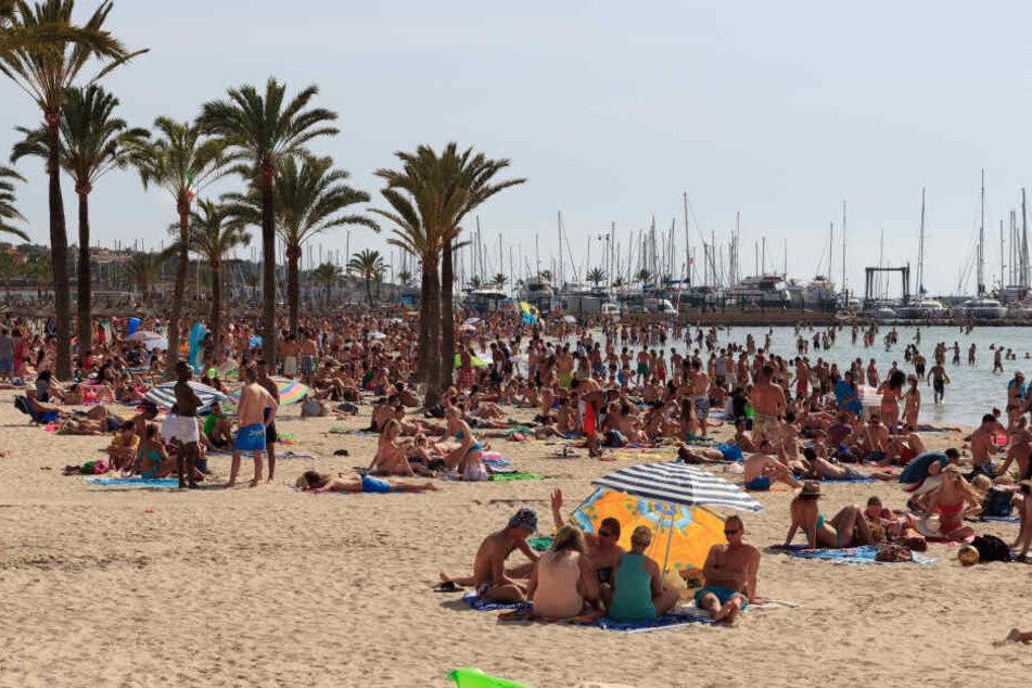 Der Strand von El Arenal. (Symbolbild)