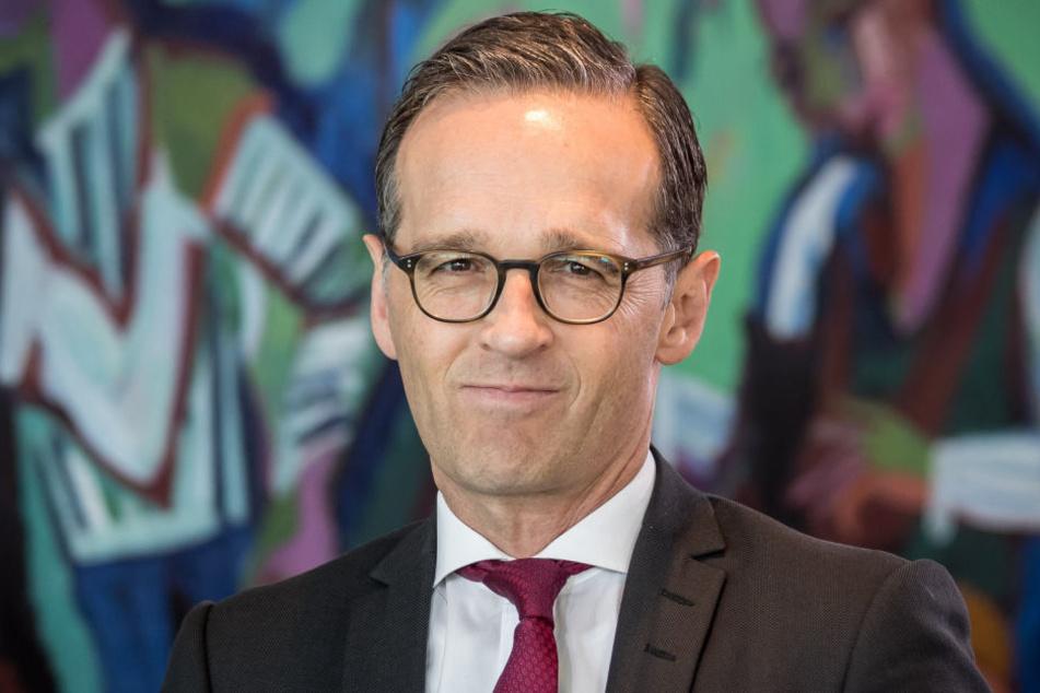 Bundesjustizminister Heiko Maas (SPD) hält am Montag in Dresden einen Vortrag.
