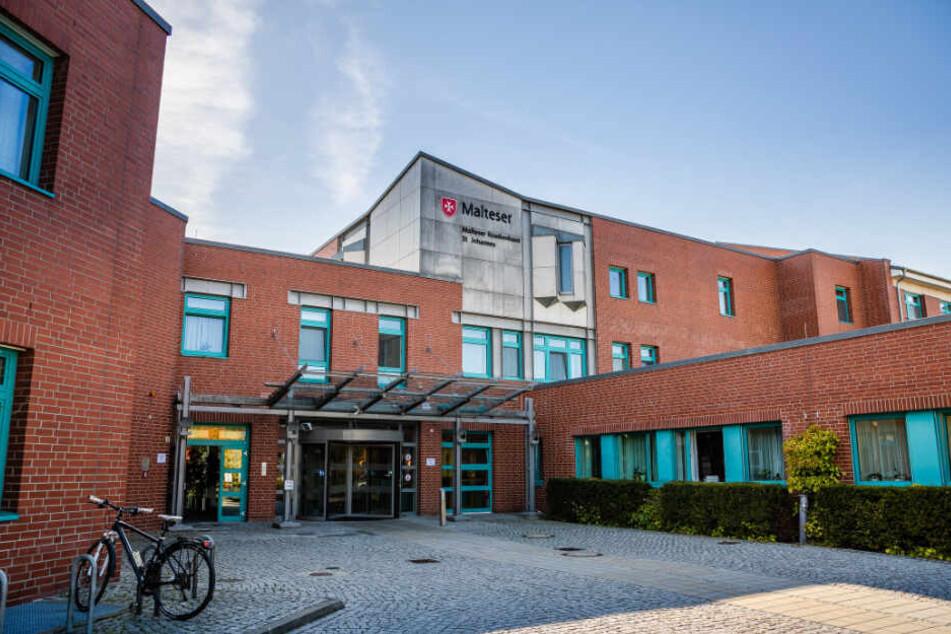 Malteser-Krankenhaus in Kamenz: Die Verkaufspläne sorgen für große Unruhe in Ostsachsen.