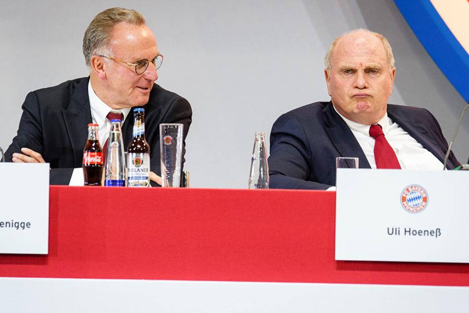Nuri Sahin kann die Bayern-Bosse Karl-Heinz Rummenigge (l.) und Uli Hoeneß (r.) mit ihrer Pressekonferenz-Schelte verstehen.