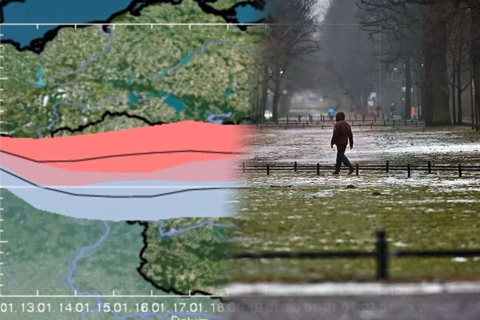 Der Deutsche Wetterdienst warnt in der Nacht zu Dienstag vor Frost.