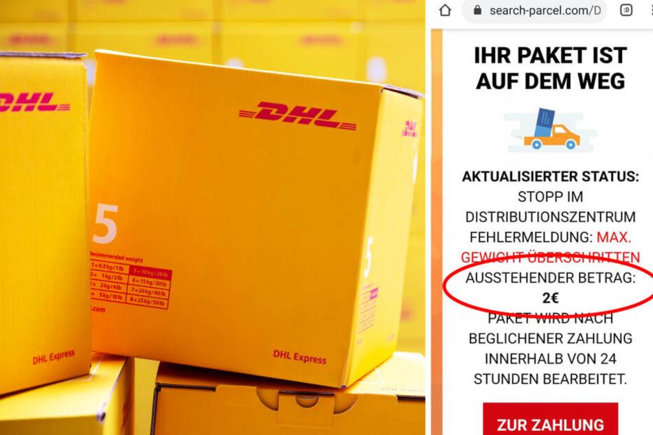 Keine Lieferung: Muss man jetzt DHL-Pakete nachzahlen, wenn sie zu schwer sind?