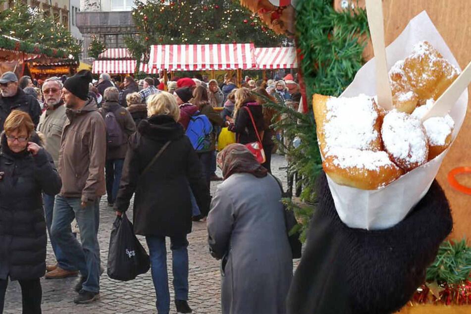 Großer Weihnachtsmarkt-Test: Hier gibt's die leckersten Kräppelchen aus Leipzig