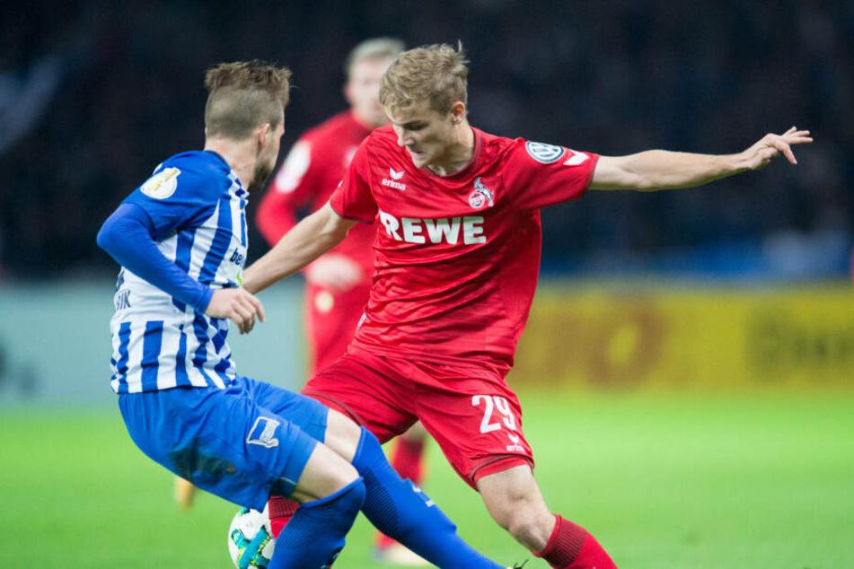 Tim Handwerker wechselt zum 1. FC Nürnberg. (Archivbild)