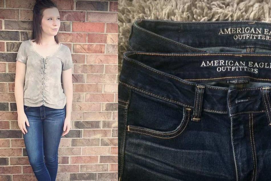 20-Jährige kauft erneut ihre Lieblings-Jeans und erlebt bittere Enttäuschung