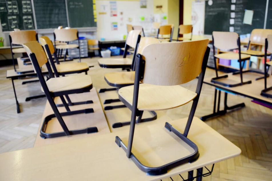 An der Rudolfschule in Chemnitz findet am Dienstag kein Unterricht statt. (Symbolbild)
