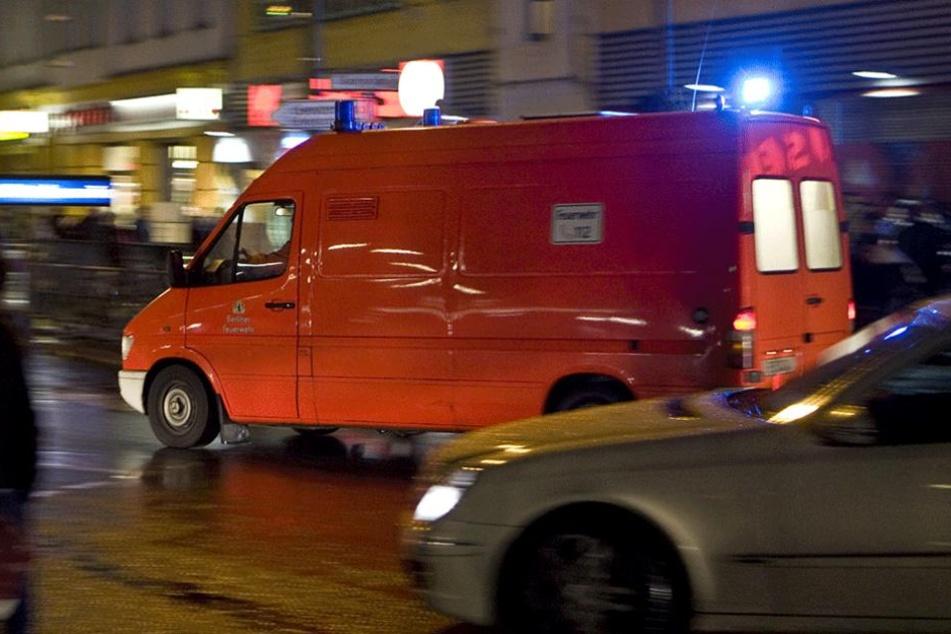 Die Rettungskräfte mussten sich wegen Pfefferspray-Vorfällen um viele Verletzte kümmern.