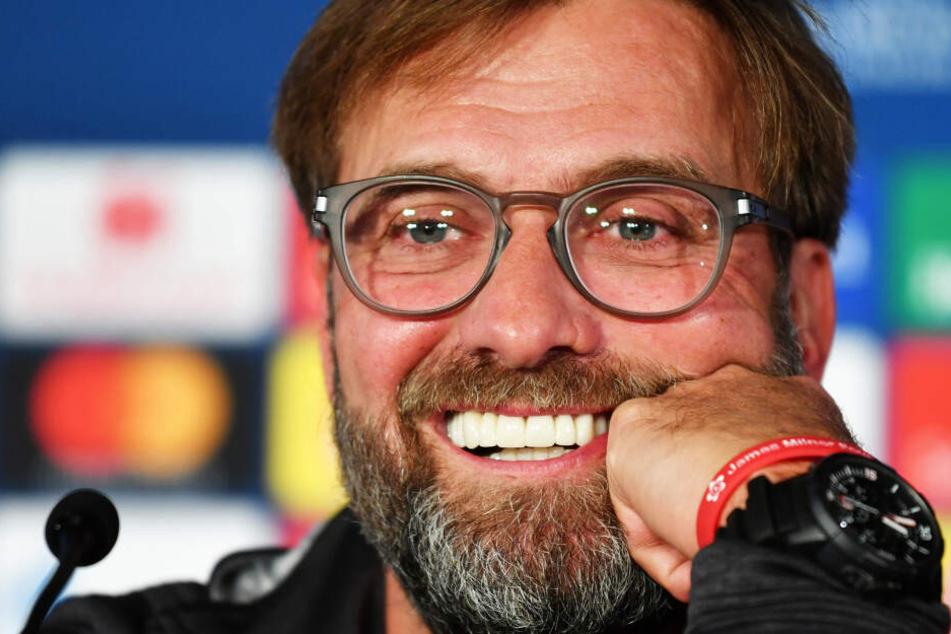 Liverpool-Coach Jürgen Klopp macht Übersetzer vor Salzburg-Spiel rund