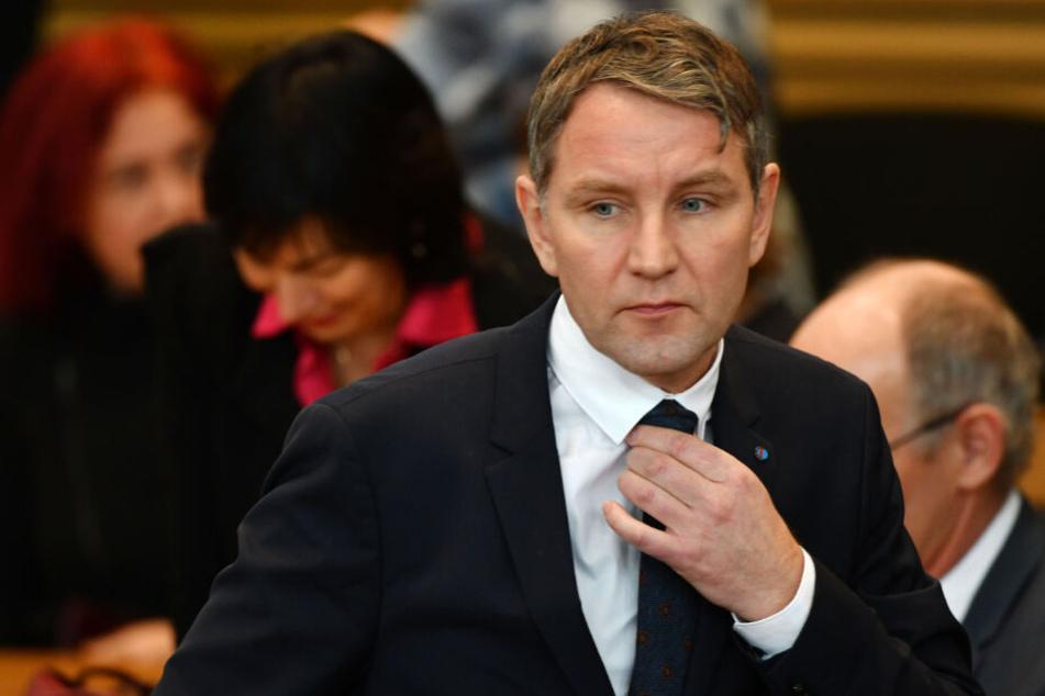 Björn Höcke, AfD-Fraktionschef im Thüringer Landtag, ist von dem Hausverbot betroffen.