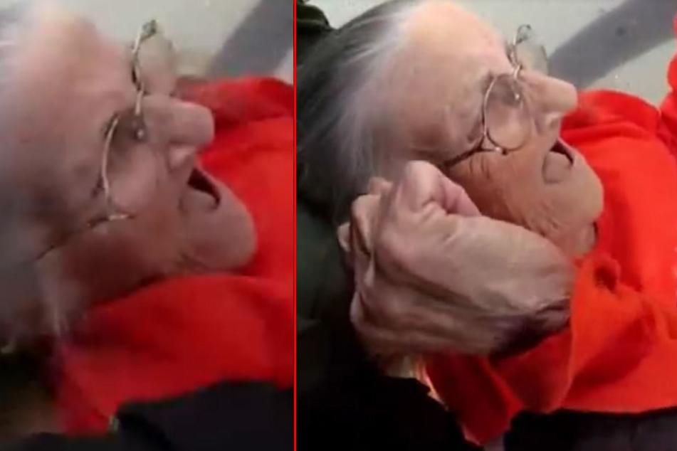 """""""Sie tun mir weh!"""": Oma (93) wird brutal festgenommen, weil sie ihre Miete nicht bezahlen kann"""