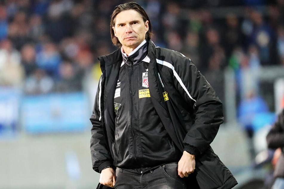 Thomas Brdaric wird nun doch nicht neuer Trainer des Chemnitzer FC.