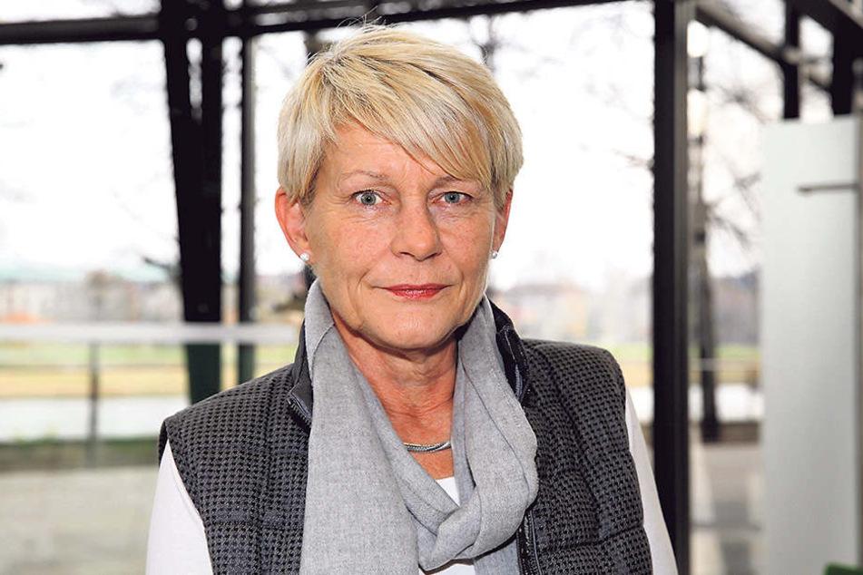 Grünen-Politikerin Petra Zais (61).