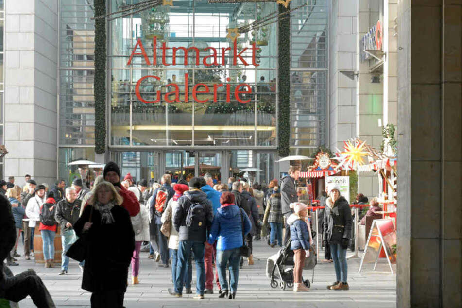 Die Läden werden garantiert wieder voll: Morgen kann in Dresden eingekauft werden.