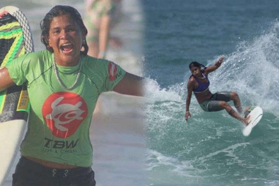 Surferin wird beim Training vom Unwetter überrascht und stirbt