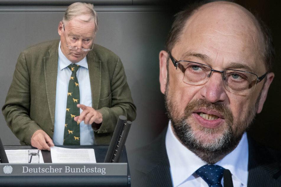 """Schulz attackiert Gauland: """"Sie gehören auf den Misthaufen der Geschichte"""""""