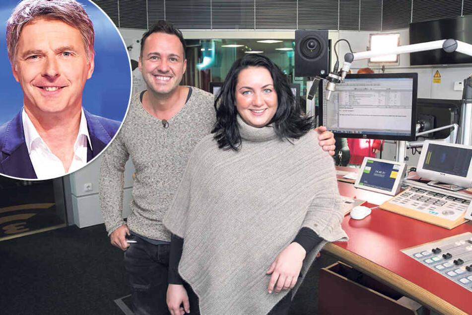 Freuen sich auf ihr Quizduell: Silvio Zschage (37) und Peggy Schirmer (30).