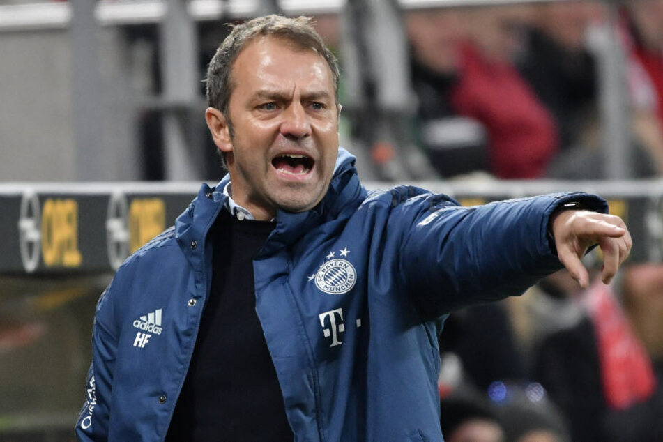 Bayern-Cheftrainer Hansi Flick bleibt trotz Sieg kritisch mit seinen Spielern.