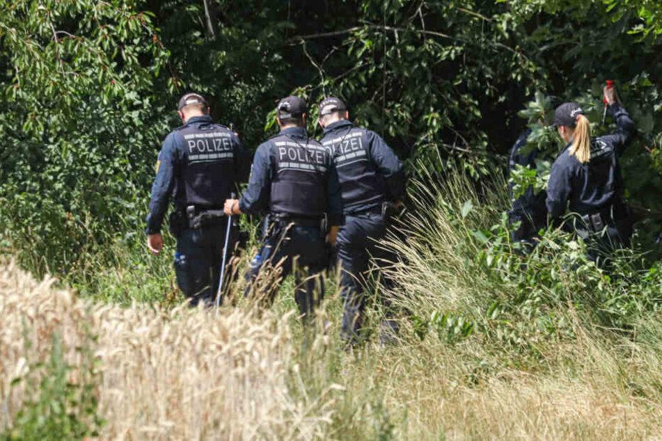 Die Polizei fand am 10. Juli eine Frauenleiche am Ufer der Rems.