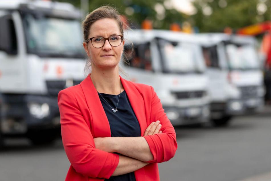 Findet die Auftragsballung in den Sommerferien nicht optimal: Diplom-Ingenieurin Linda Hüttner (40).