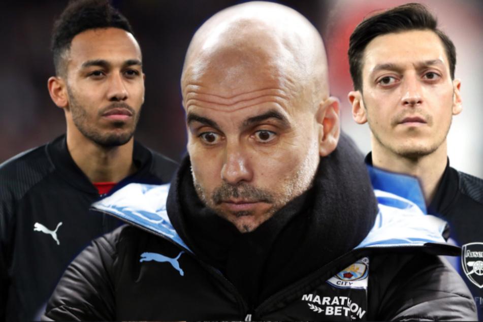 Spieler in Corona-Quarantäne: Man City gegen Arsenal abgesagt