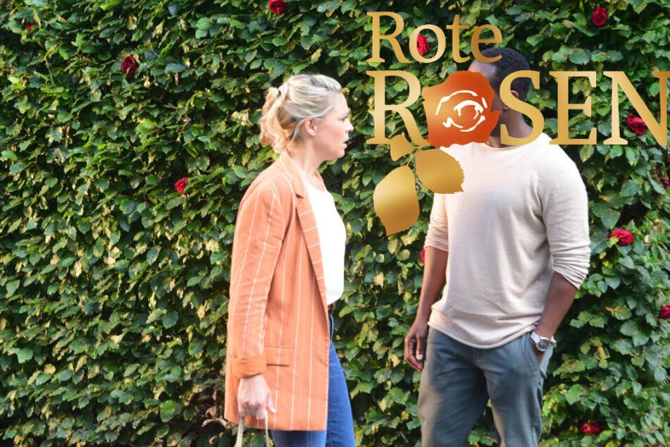 Im Vorspann der neuen Staffel Rote Rosen trifft Britta auf den Arzt Dr. Hendrik Althaus.