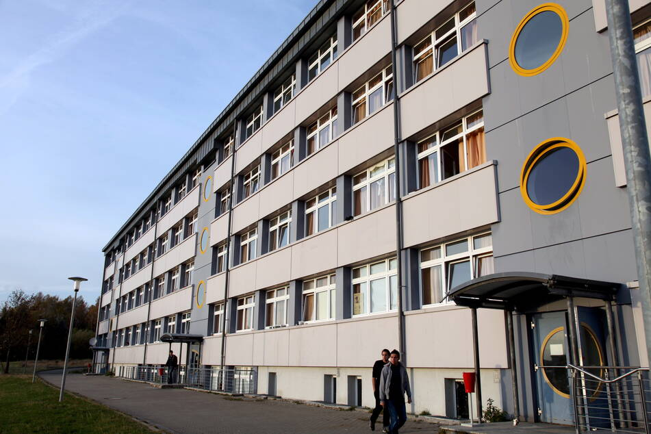 Das Asylheim in Schneeberg.