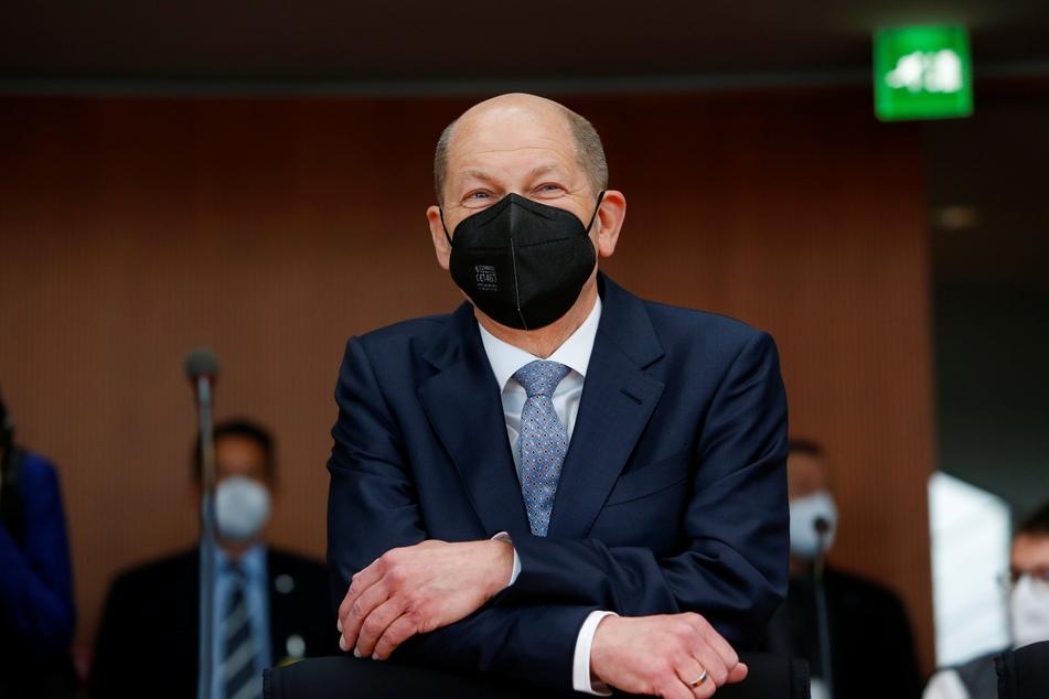 Bundesfinanzminister Olaf Scholz (62, SPD) fordert für Ende Mai ein belastbares Konzept für den Weg aus dem Corona-Lockdown.