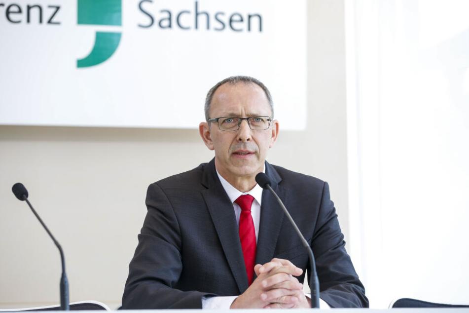 Sachsens AfD-Chef Jörg Urban (54).