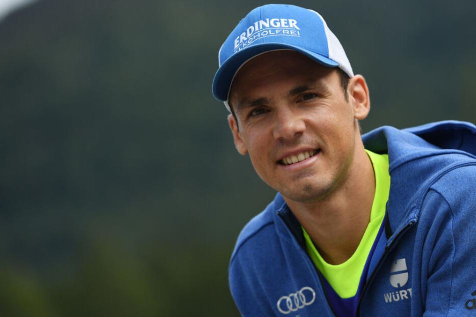 Simon Schempp kämpfte sich nach einer schwierigen letzten Saison mit Verletzungen und schwacher Form wieder zurück ins Weltcupteam.