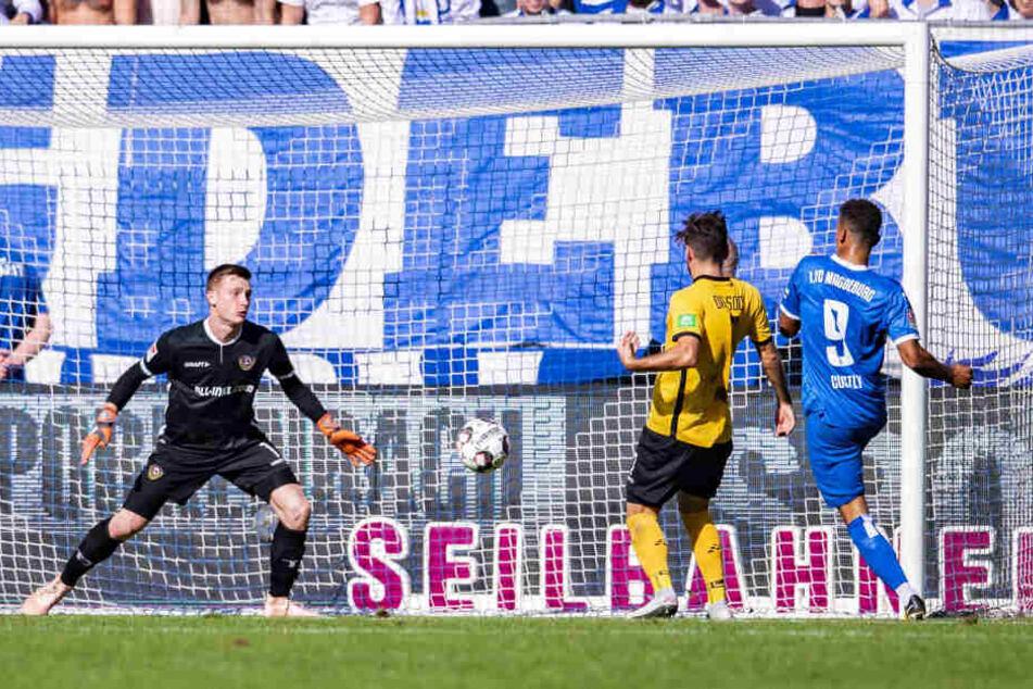 Im Hinspiel können hier Niklas Kreuzer und Markus Schubert den Anschluss zum 2:1 nicht verhindern. Am Ende ging die Partie 2:2 aus.