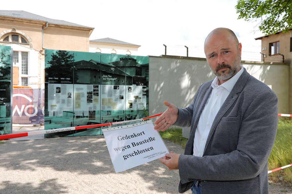 Durfte kein AfD-Gedenken abhalten: Nico Köhler (42).
