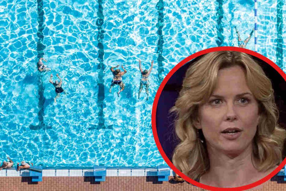 Britta Steffen hatte früher mit hartem Konkurrenzdruck zu kämpfen.