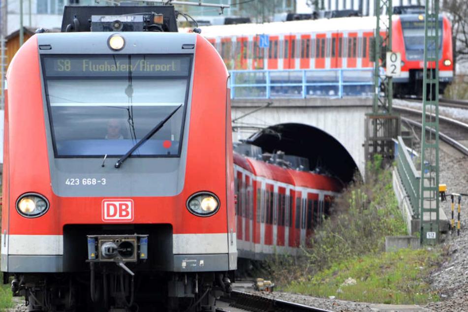 Auf der Stammstrecke in München gab es am Wochenende Zwischenfälle. (Archivbild)