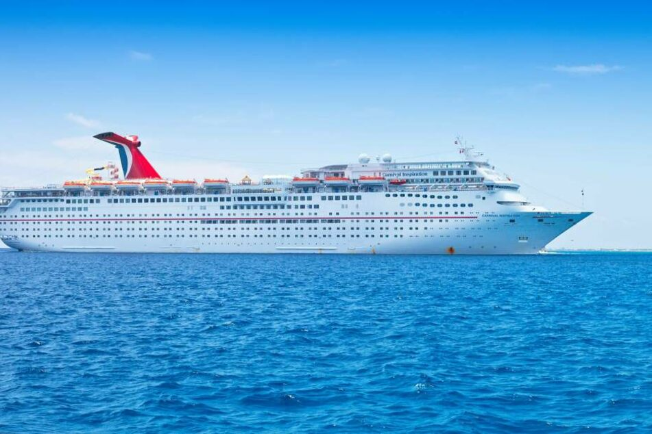 Ein Kreuzfahrtschiff der Carnival Cruise Line im Oktober 2018 in den USA.