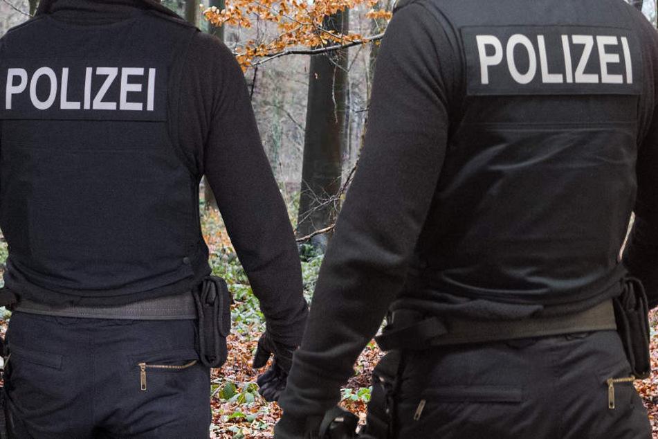 Die Polizei will am heutigen Montag das Waldstück intensiv durchsuchen (Symbolbild).