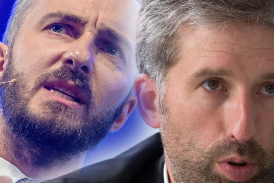 Berufswechsel? Wird der Grüne Boris Palmer der neue Jan Böhmermann?