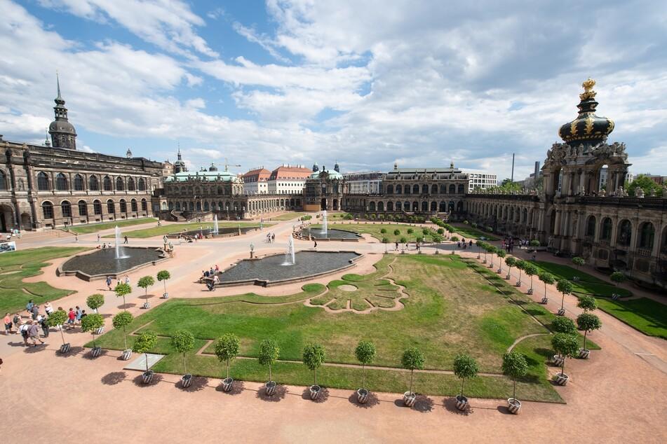 Der Dresdner Zwinger ist eines der bekanntesten Barockbauwerke Deutschlands. (Archivbild)