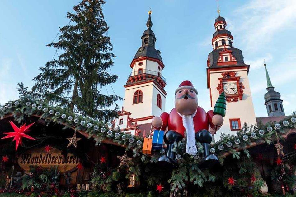 Neben dem Striezelmarkt in Dresden war auch der Chemnitzer Weihnachtsmarkt ein mögliches Ziel eines Anschlags gewesen.