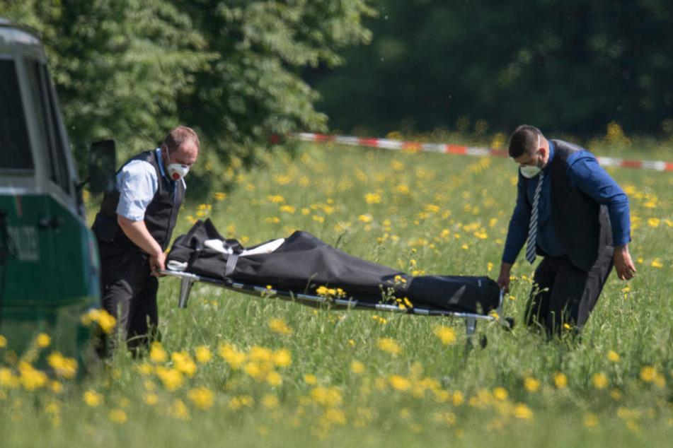 Die Leiche der Frau wurde am Mittwoch im Volkspark Niddatal gefunden.