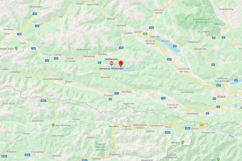 Der Weißensee ist einer der größten in der Region Kärnten.