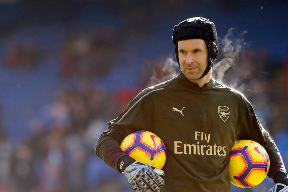 Eine Fußball-Legende tritt ab: Petr Cech macht im Sommer Schluss