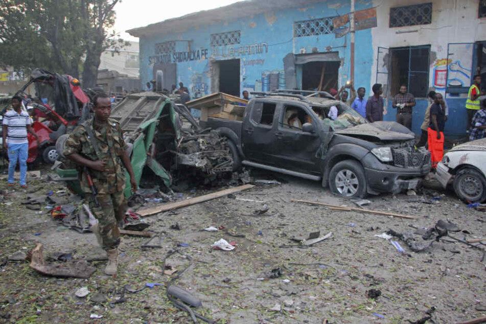 In der somalischen Hauptstadt Mogadischu ist nach Angaben der Polizei eine Autobombe explodiert.