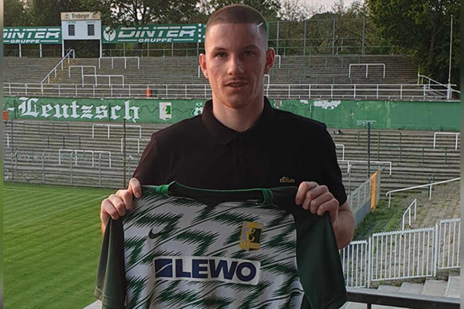 Der bei Eintracht Frankfurt ausgebildete Raffael Cvijetkovic hat bei Chemie Leipzig einen Vertrag unterschrieben.