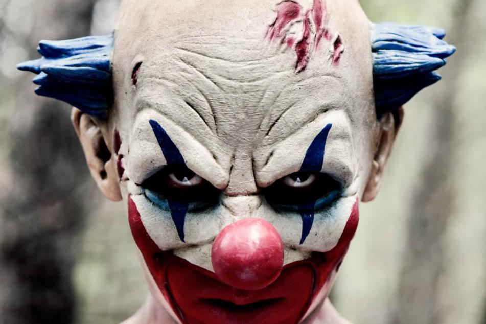 Wenn einem ein Horror-Clown begegnet, sollte man schnell die Flucht ergreifen. (Symbolbild)