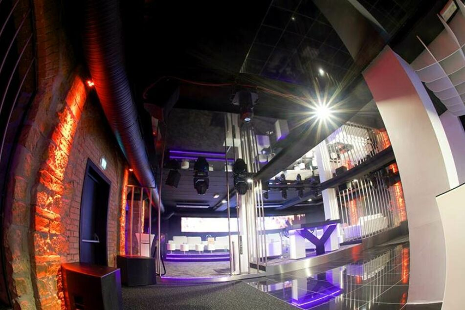 Das Obergeschoss des Clubs My House auf der Erfurter Straße 12.